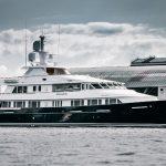 superyacht Broadwater